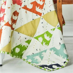 Bear Necessities Quilt Kit featuring Bear Camp