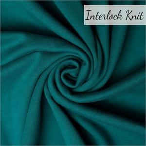 Birch Organic Fabrics, Mod Basics Solids, KNIT, Teal