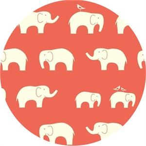 Birch Organic Fabrics, Mod Basics, KNIT, Ellie Fam Coral