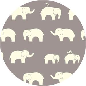 Birch Organic Fabrics, Mod Basics, KNIT, Ellie Fam Shroom