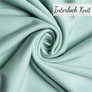 Birch Organic Fabrics, Mod Basics, KNIT, Solid Mineral