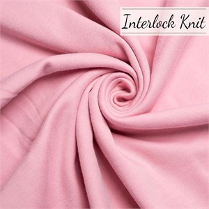 Birch Organic Fabrics, Mod Basics, KNIT, Solid Petal