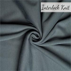 Birch Organic Fabrics, Mod Basics Solids, KNIT, Slate