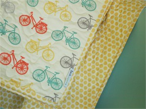 Birch Organic Play Quilt Bike It
