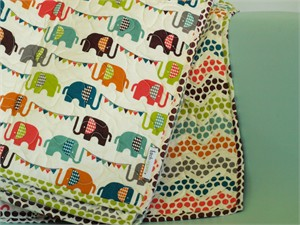 Birch Organic Play Quilt Elephun