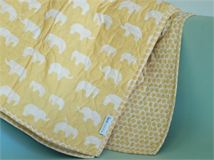 Birch Organic Play Quilt Ellie Fam Sun