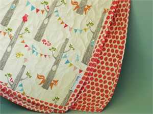 Birch Organic Play Quilt Woodland Party