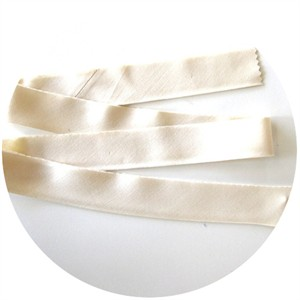"Bias Tape, Bella Solids, 2"" Single Fold, Natural (1 Yard)"