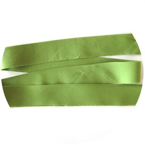 "Bias Tape, Bella Solids, 2"" Single Fold, Leaf (1 Yard)"