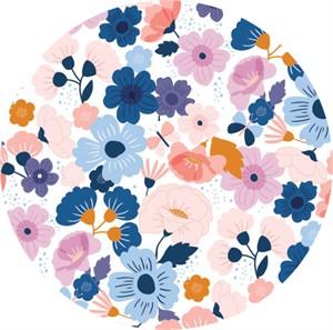 Cathy Nordström for Andover, Floral Splendor, Blooming Blue