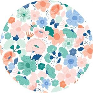 Cathy Nordström for Andover, Floral Splendor, Blooming Green