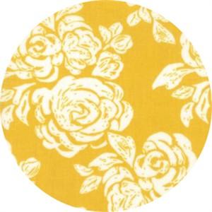 Kate Spain for Moda, Early Bird, Blooms Honey