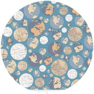 Bo Bunny, Detour, Globe Trotting Blue