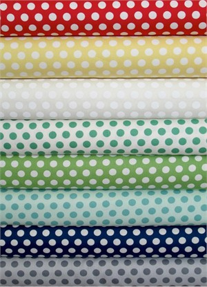 Bonnie & Camille, April Showers, Dots Sampler in FAT QUARTERS 7 Total