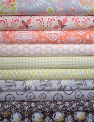 Bonnie Christine, Sweet as Honey, Autumn Harvest in FAT QUARTERS 8 Total