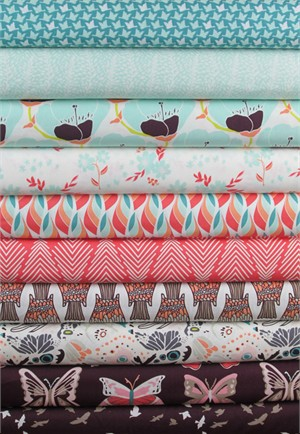 Bonnie Christine, Winged, Southern Migration in FAT QUARTERS 10 Total