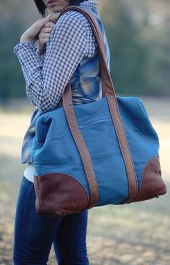 Sew Liberated, Sewing Pattern, Bohemian Carpet Bag