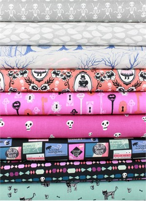 Cotton and Steel, Boo, Daytime in FAT QUARTERS 9 Total