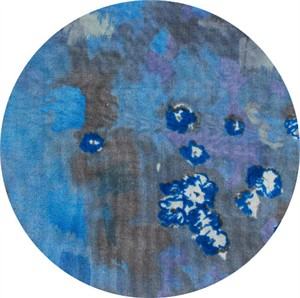 Nani Iro, DOUBLE GAUZE, Bouquet Blue