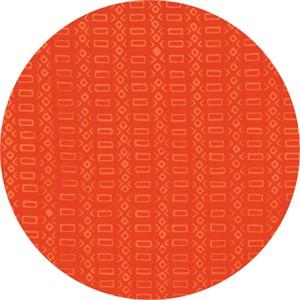 Hoffman Fabrics, Indah BATIKS Spring 2017, Linear Box Rectangle Monarch