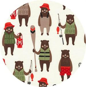 Andie Hanna for Robert Kaufman, Brawny Bears, Brawny Bears Adventure