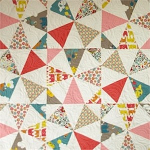 Break Dance Quilt Kit featuring Prints from Frolic
