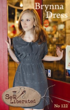 Sew Liberated, Sewing Pattern, Brynna Dress