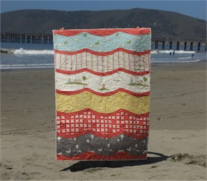 By Sea or By Land Quilt Kit for Girls