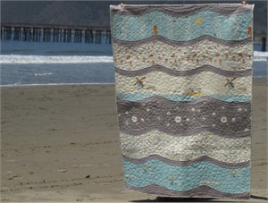 By Sea or By Land Quilt Kit for Boys