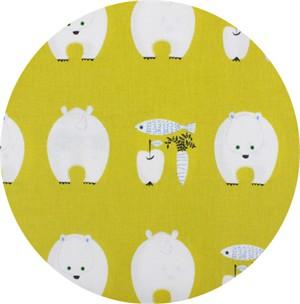 Japanese Import, CANVAS, Bears Bounty Yellow