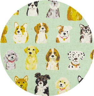 Japanese Import, CANVAS, Puppy Portraits Pool