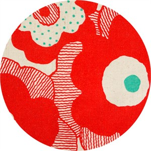 Japanese Import, CANVAS, Swedish Poppies Red