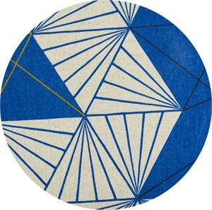 Japanese Import, CANVAS, Triangle Stripe Royal