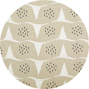 Japanese Import, Summer Vibes CANVAS, Wavy Snails Natural