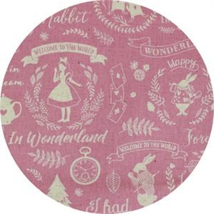 Japanese Import, CANVAS, Wonderland Dreams Pink