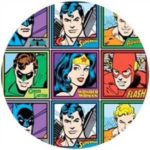 Camelot Cottons, DC Comics Originals, Meet the Heroes