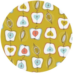 Camelot Cottons, Fruit Stand, Apples Citron