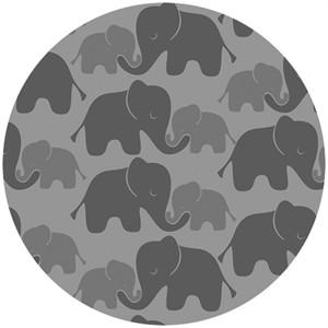 Camelot Cottons, Imaginarium, Elephants Gray