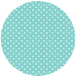 Camelot Cottons, Itty Bitty, Polka Dots Blue