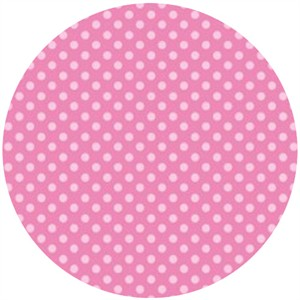 Camelot Cottons, Itty Bitty, Polka Dots Pink