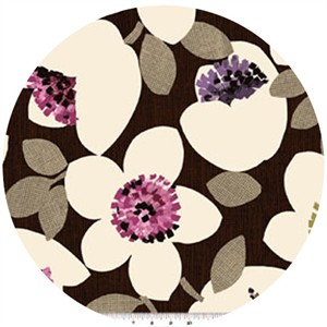 Contempo, Cachet, Large Floral Pink/Brown