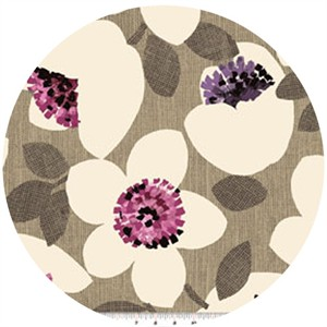 Contempo, Cachet, Large Floral Pink/Taupe