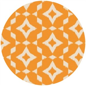 Camelot Cottons, Mint to Be, Ikat Orange