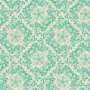 Camelot Cottons, Mint to Be, Rococo Mint