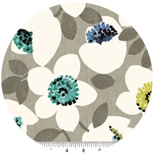 Contempo, Cachet, Small Flower Green/Gray