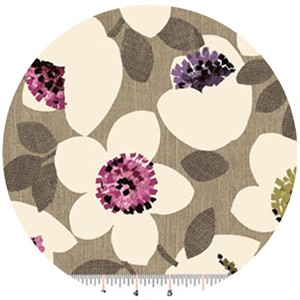 Contempo, Cachet, Small Flower Pink/Taupe