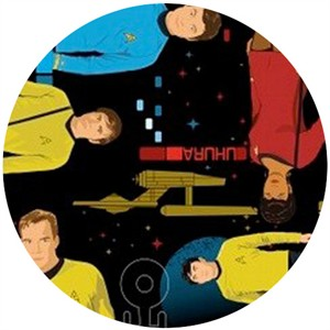 Camelot Cottons, Star Trek Universe, Main Characters
