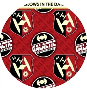 Camelot Cottons, Star Wars: The Dark Side, Galactic Empire Red