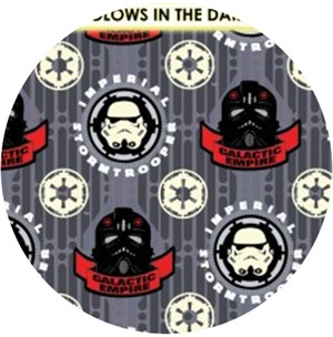 Camelot Cottons, Star Wars: The Dark Side, Imperial Stormtrooper Gray