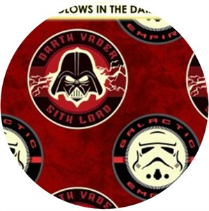 Camelot Cottons, Star Wars: The Dark Side, Sith Lord Red